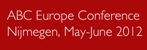 ABC Europe 2012 (conferentie over bedrijfscommunicatie)