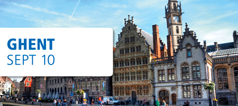 tekom-roadshow in Gent, 10 september 2014